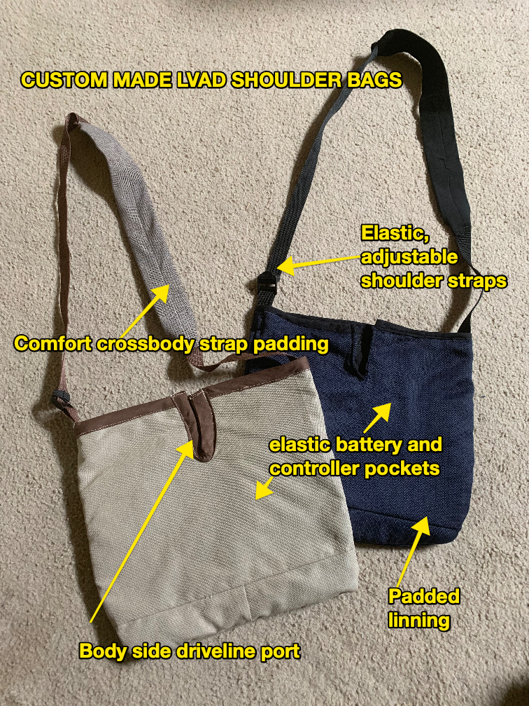 Comfort LVAD Shoulder bag